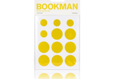 BOOKMAN Stickers Reflechissant Jaune