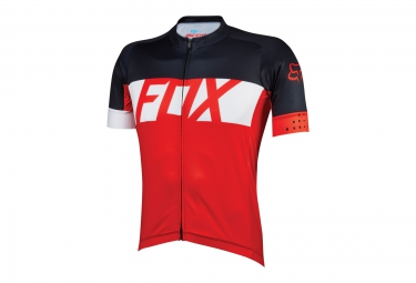 FOX Maillot manches courtes ASCENT Rouge