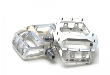 DELUXE Pédales F-LITE Aluminium Polish