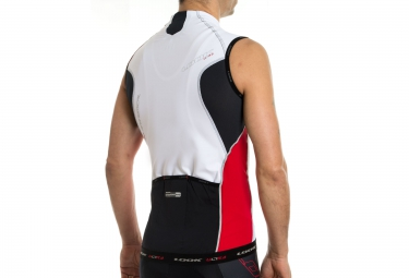 LOOK Maillot Sans Manches Pro Team SL Blanc/Rouge