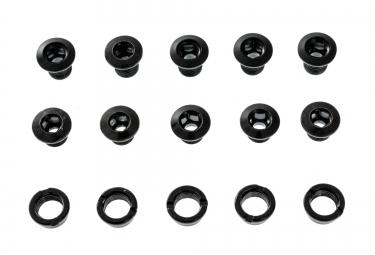 GLOBAL RACING Pack de 5 vis cheminée Noir