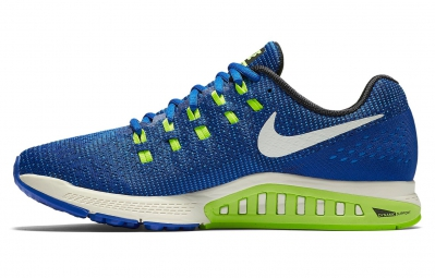 NIKE AIR ZOOM STRUCTURE 19 Bleu