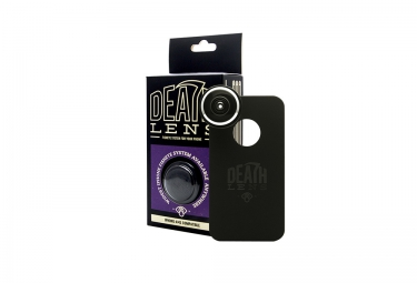 DEATHLENS Fisheye pour IPhone 4 et 4S Noir