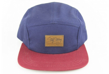 STAYSTRONG Casquette CAMPER 5 PANEL - Rouge/Navy