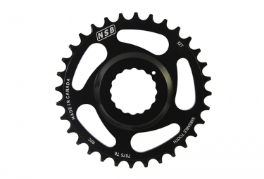 Plateau NSB RACE FACE CINCH 11 V Noir