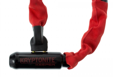 KRYPTONITE Chaine KEEPER 785 Longueur 85cm Rouge