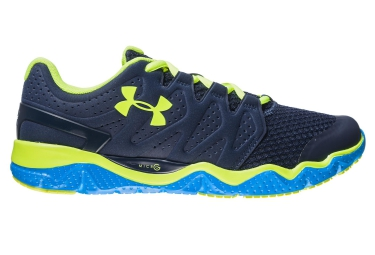UNDER ARMOUR MICRO G OPTIMUM Bleu Jaune Homme