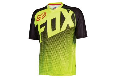 FOX Maillot Manches Courtes FLOW SS Jaune