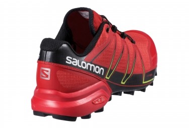 Salomon SPEEDCROSS PRO Noir/Rouge Homme
