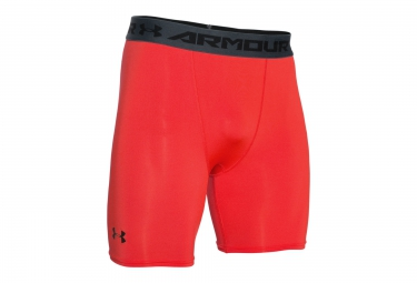 UNDER ARMOUR HEATGEAR ARMOUR Compression Shorts Red