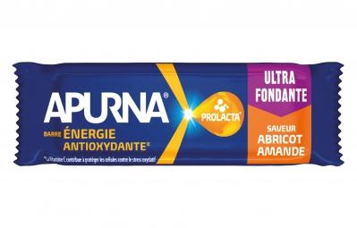 APURNA Barre Energétique Fondante Abricot-Amande Boite 5x25g
