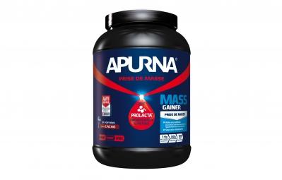 APURNA Pot de Protéines MASS GAINER Chocolat Pot 1100g