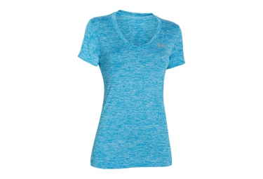 UNDER ARMOUR TWIST TECH Short Sleeves Jersey Blue Women