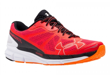 UNDER ARMOUR CHARGED BANDIT Pair of Shoes Red black