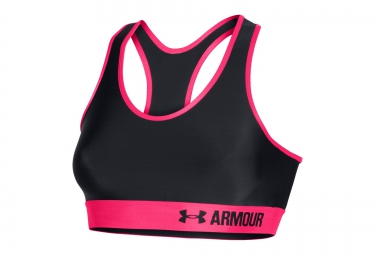 UNDER ARMOUR ARMOUR MID Bra Black Pink Women