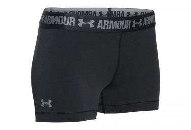 UNDER ARMOUR HEATGEAR ARMOUR 3 Shorts Black Women