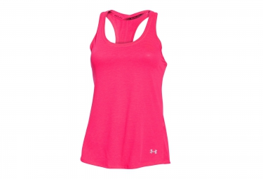 UNDER ARMOUR CHARGED RUN Tank Top Pink Women