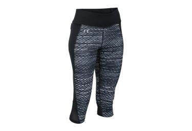 UNDER ARMOUR FAST FORWARD 2.0 PRINTED 3/4 Tights Black Grey Women