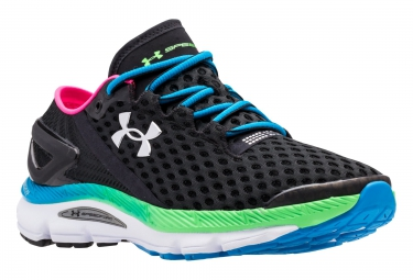 UNDER ARMOUR SPEEDFORM GEMINI 2 Pair of Shoes Black Multi-color Women