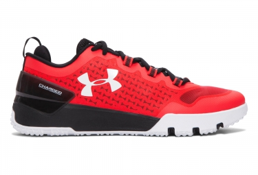 UNDER ARMOUR CHARGED ULTIMATE LOW TRAINING Pair of Shoes Red Black