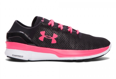 UNDER ARMOUR SPEEDFORM TURBULENCE REFLECTIVE Pair of Shoes Black Pink Women