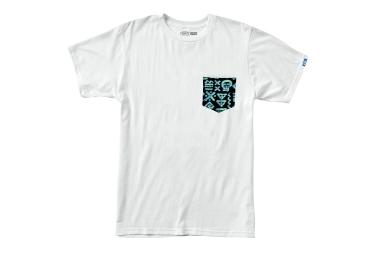 VANS 2016 T Shirt SCRAWLED Blanc