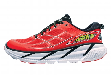 HOKA CLIFTON 2 Rouge Blanc