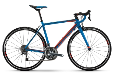 HAIBIKE 2016 Vélo Complet RACE 8.20 Shimano Tiagra 10V Bleu Rouge