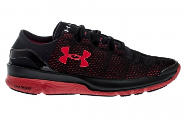 UNDER ARMOUR SPEEDFORM APOLLO 2 Pair of Shoes Black Red
