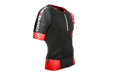 COMPRESSPORT Maillot TR3 AERO TOP Noir