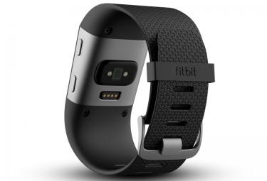 FITBIT Montre avec Fréquence Cardiaque SURGE Noir