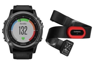 GARMIN Montre GPS FENIX 3 Gris Performer HRM