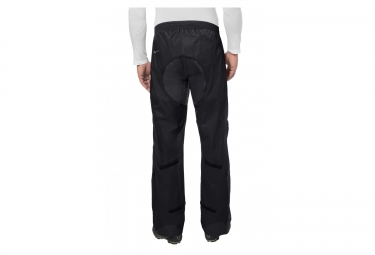 VAUDE Pantalon Anti-Pluie DROP II Noir