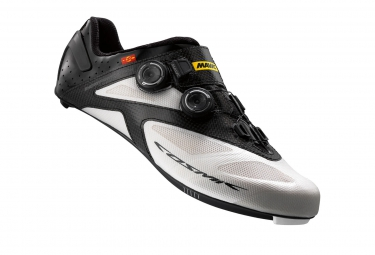 Chaussures Route Mavic COSMIC Ultimate II 2016 Blanc/Noir