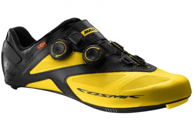 Chaussures Route Mavic COSMIC Ultimate II Maxi Fit 2016 Jaune