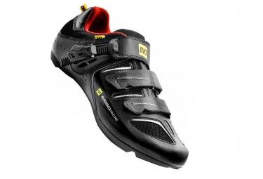 Chaussures Route Mavic Ksyrium elite 2015 Noir Rouge