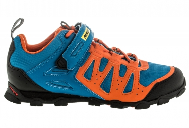 Chaussures VTT MAVIC Crossride Elite 2016 Bleu/Orange