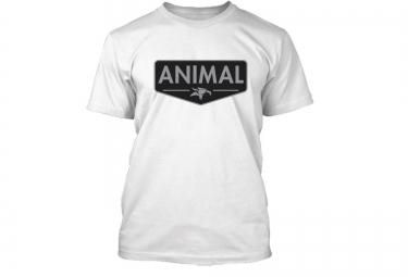ANIMAL T-Shirt EMBLEM Blanc