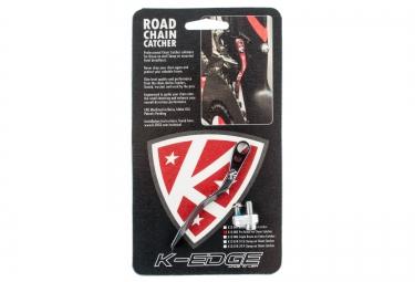 K-EDGE patte anti sauts de chaîne pro road CHAIN CATCHER Noir