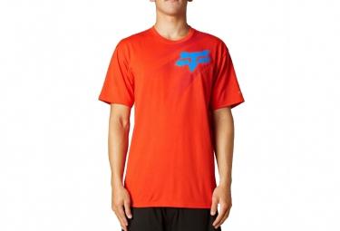 FOX T-shirt FLIGHT TECH Flame Red