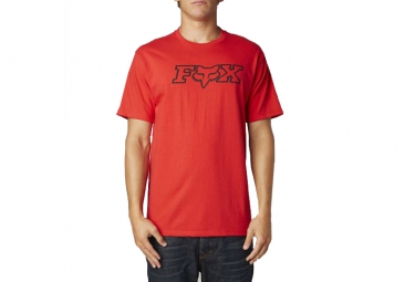 FOX T-Shirt LEGACY Rouge
