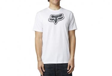 FOX T-shirt STALEMATE Blanc