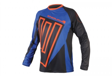 ENDURA Maillot MT 500 II Bleu Noir Orange