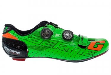 GAERNE 2016 Chaussures G.STILO CARBON Edition limitée COLORS Vert Fluo