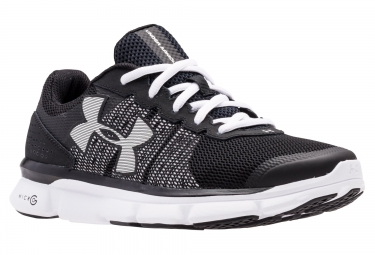 UNDER ARMOUR Pair of Shoes MICRO G SPEED SWIFT Black White Women