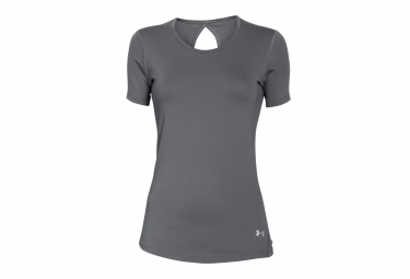UNDER ARMOUR HEATGEAR COOLSWITCH Short Sleeves Jersey Grey Women