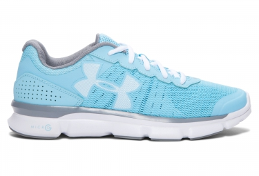 UNDER ARMOUR Pair of Shoes MICRO G SPEED SWIFT Blue White Women