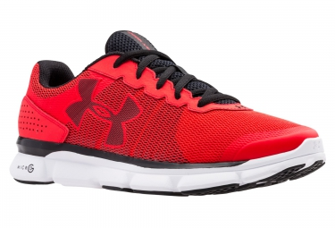 UNDER ARMOUR Pair of Shoes MICRO G SPEED SWIFT Red White Black