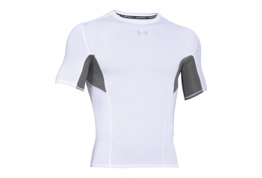 UNDER ARMOUR COOLSWITCH Short Sleeves Compression Jersey White