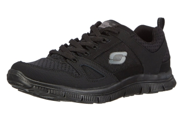 SKECHERS Running Shoes FLEX APPEAL ADAPTABLE Black Women